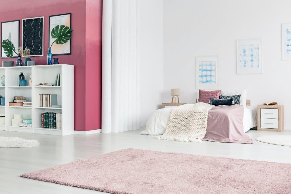 Berry living room interior